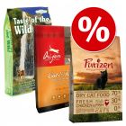 Gemischtes Paket:  Purizon + Orijen + Taste of the Wild
