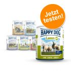 Gemischtes Probierpaket Happy Dog Pur