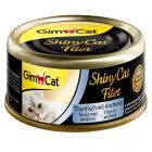 GimCat ShinyCat Filet, Thunfisch & Anchovis