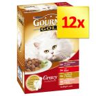 Gourmet Gold Assortiment en sauce 12 x 85 g