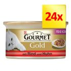 Gourmet Gold Doble Placer 24 x 85 g