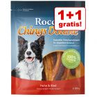 1 + 1 gratis!  2 x Rocco Chings Double oder Cubes