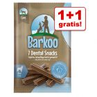 1 + 1 gratis! Barkoo Dental Snacks, 2 x 7 szt.