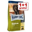 1 + 1 gratis! 2 kg Happy Dog Supreme Sensible