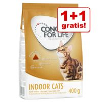 1 + 1 gratis! 2 x 400 g Concept for Life