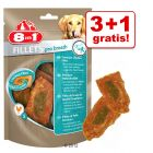 3 +1 ¡gratis! 4 x 80 g 8 in 1 Fillets Pro