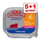 5 + 1 gratis! 6 x 100 g Integra Protect & Sensitive