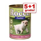5 + 1 gratis! 6 x 400 g Rocco Junior
