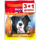 3 + 1 gratis! 4 x Rocco Chings Kausnacks