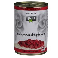 Grau Gourmet with Wholegrain Rice 6 x 400g