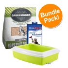 Greenwoods Cat Litter Starter Set - Saver Bundle!*