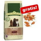 Großgebinde James Wellbeloved + 70 g Dokas Kausnack gratis!