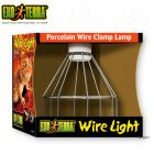 Hagen Exo Terra Porcelain Clamp Lamp Wire Light