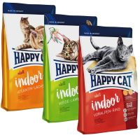 Happy Cat Indoor Adult Mixpaket mit 3 Sorten
