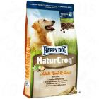 Happy Dog NaturCroq con ternera y arroz