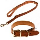 Heim Buffalo Dog Lead & Collar Set