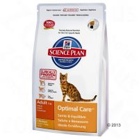 Hill's Adult Optimal Care con pollo para gatos