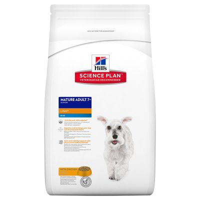 Hill's Canine Mature Adult Light 7+ Mini Huhn
