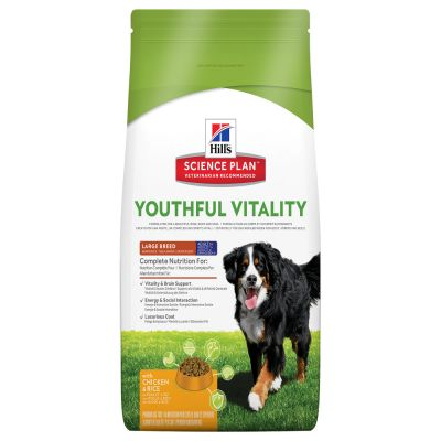 Hill's Canine 5+ Youthful Vitality Large Breed  Chicken & Rice