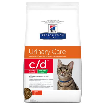 Hill's c/d Reduced Calorie Prescription Diet Feline - secco Pollo