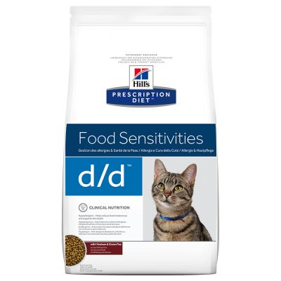 Hill's d/d Allergy Prescription Diet Feline - secco