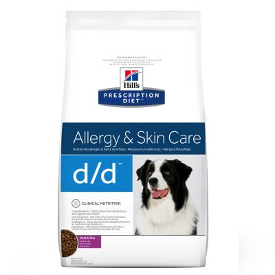 Hill's d/d  Prescription Diet Canine secco Anatra & Riso