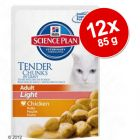 Hill's Feline Adult Light 12 x 85 g