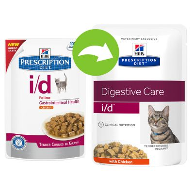 Hill's i/d Prescription Diet  Feline umido Pollo