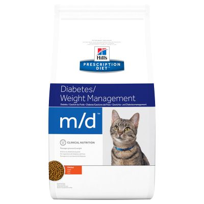Hill's m/d Prescription Diet Feline - secco