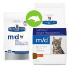Hill's m/d Prescription Diet pienso para gatos