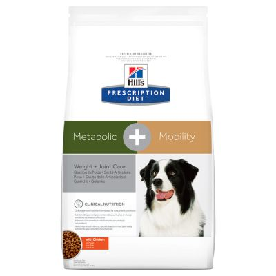 Hill's Metabolic + Mobility Prescription Diet Canine secco