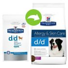 Hill's Prescription Diet Canine - d/d Allergy & Skin Care Duck & Rice