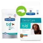 Hill's Prescription Diet Canine t/d Dental Care Mini