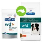 Hill's Prescription Diet Canine w/d - Digestive/Weight/Diabetes Management