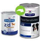 Hill´s Prescription Diet Canine z/d ultra allergiamentes