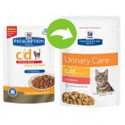 Hill's Prescription Diet Feline - c/d Multicare Salmon