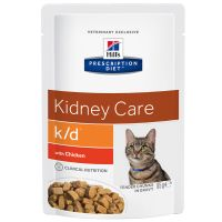 Hill's Prescription Diet Feline K/D Pouch - Renal Health