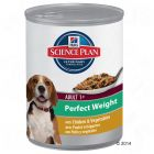 Hill's Science Plan Canine Adult - Perfect Weight with Chicken & Vegetables