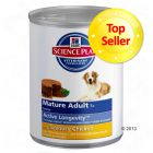 Hill's Science Plan Canine Mature 7+ 6 x 370 g