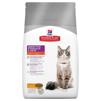 Hill's Science Plan Feline Adult Sensitive Stomach & Skin Chicken