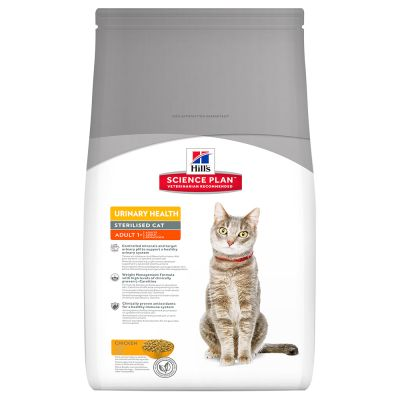 Hill´s Science Plan Feline Adult Urinary & Sterilised Huhn