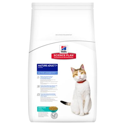 Hill's Science Plan Feline Mature 7+ Active Longevity Tonno
