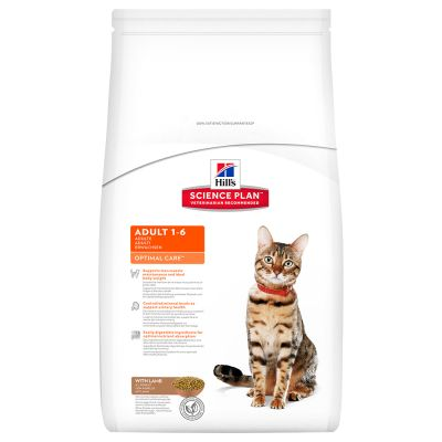 Hill's Science Plan Feline Optimal Care Agnello