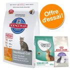 Hill's Science Plan Sterilised Cat Young Adult 1,5 kg + 2 x 400 g de Royal Canin et Concept for Life