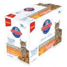 Hill's Young Adult Sterilised Cat Multipack 12 x 85 g