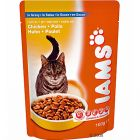 Iams Adult Cat Pouches 6 x 100g