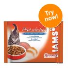 Iams Adult Selection Pouches 4 x 100g