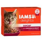 IAMS Delights Senior – Chicken in Gravy
