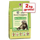 James Wellbeloved Ferret Complete para hurones en oferta: 8 + 2 kg ¡gratis!
