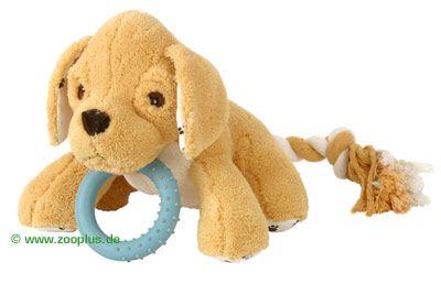avis sur jouet en peluche tommy pour chiot jouet pour chien zooplus. Black Bedroom Furniture Sets. Home Design Ideas
